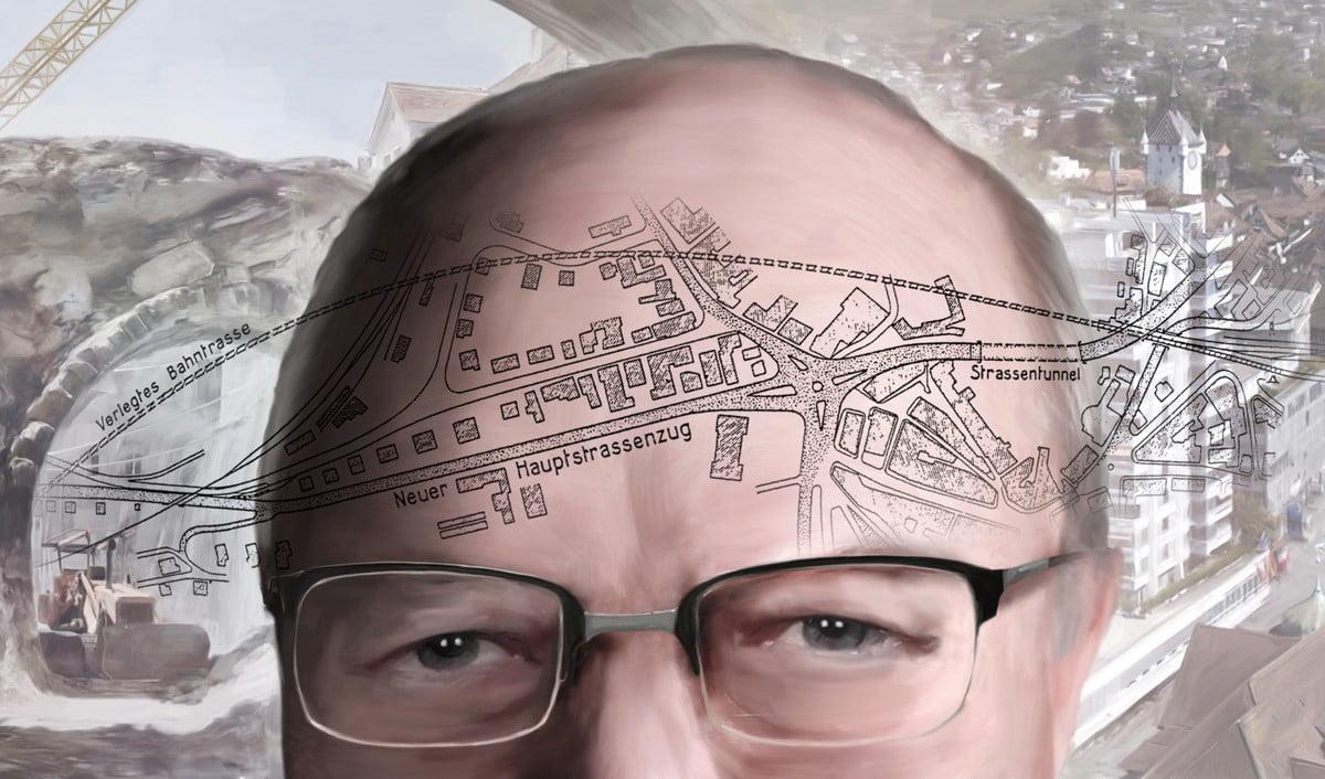Stadtgeschichte Baden, Max Mueller, ikonaut