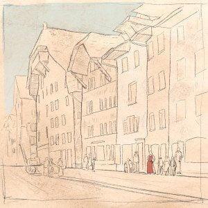 100 Jahre SP Aarau, illustration, 1921, ikonaut