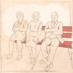 100 Jahre SP Aarau, illustration, 1954, ikonaut