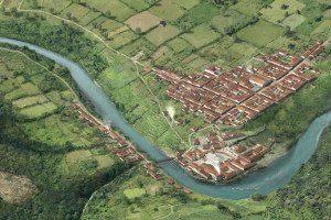 historische stadtansichten baden, ausschnit 200, ikonaut