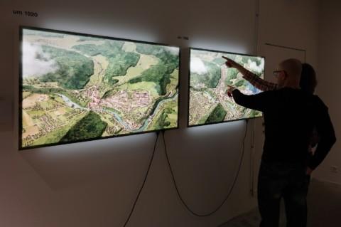 Stadtansichten Baden im Museum