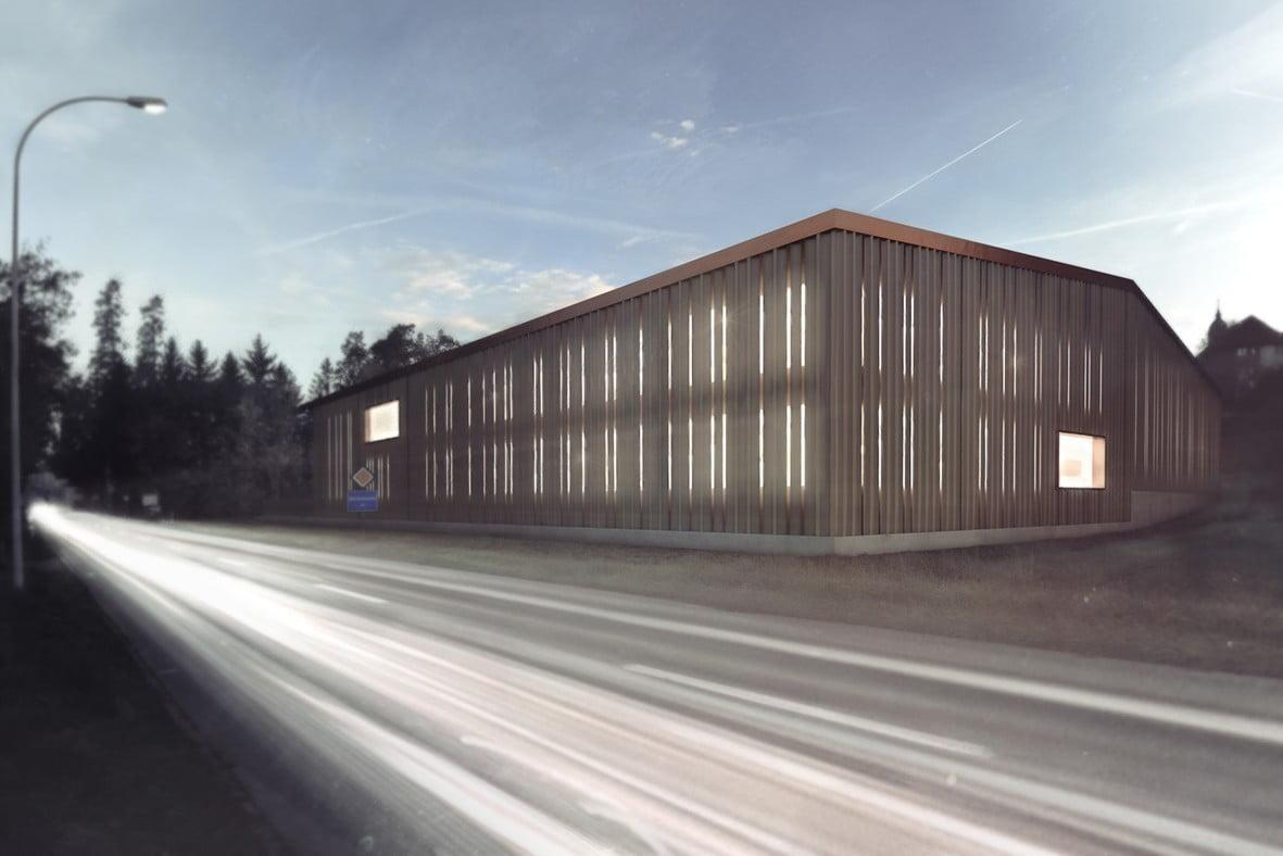 Werkhof Meisterschwanden, workyard, architekturvisualisierung, ikonaut