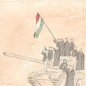 100 Jahre SP Aarau, illustration, 1956, ikonaut