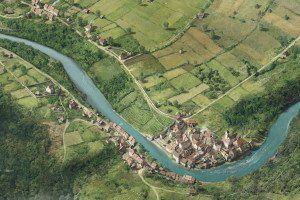 historische stadtansichten baden, ausschnitt 1600, ikonaut