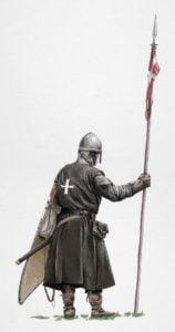 Medieval Knight, krak, ikonaut, ruestungen