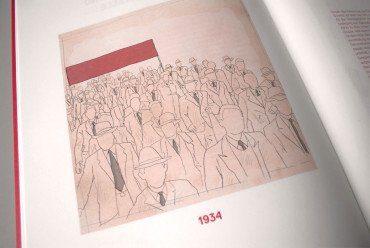 100 Jahre SP Aarau, illustration, 1934, ikonaut