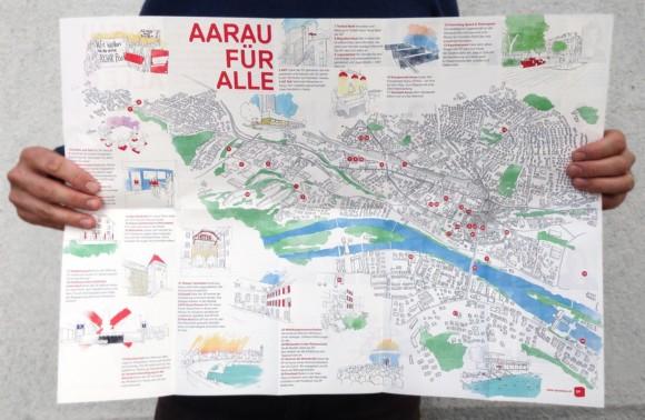 Stadtkarte «Aarau für Alle»