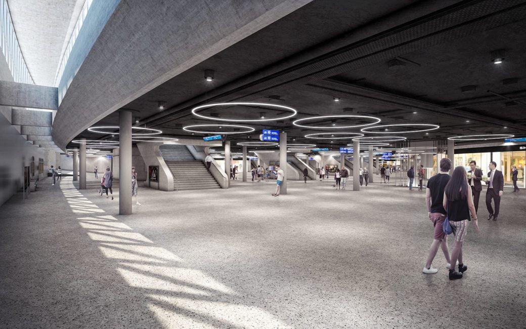 SBB, Bahnhof Bern, PU 2 neu, ikonaut