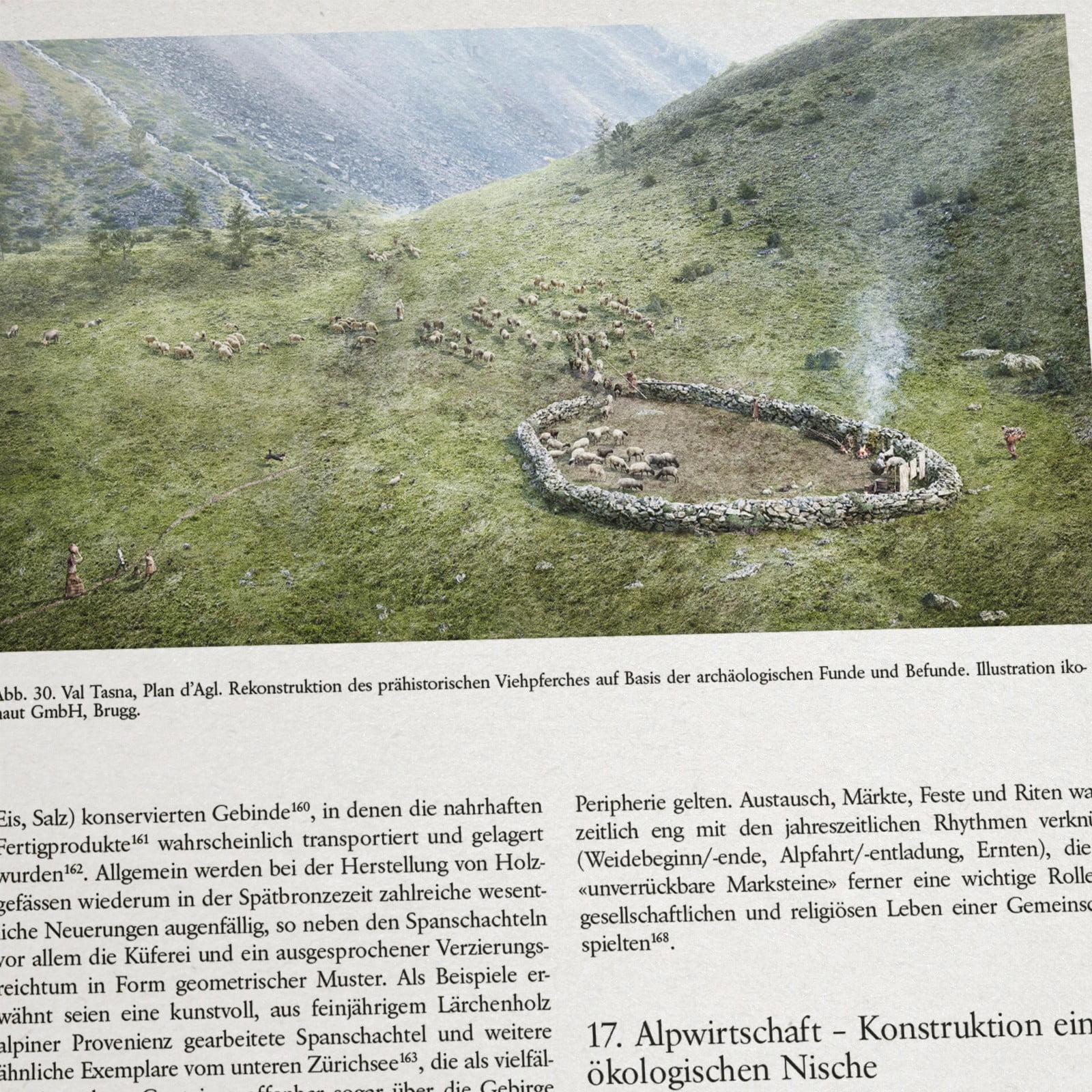 Praehistorische Alpwirtschaft 03, ikonaut