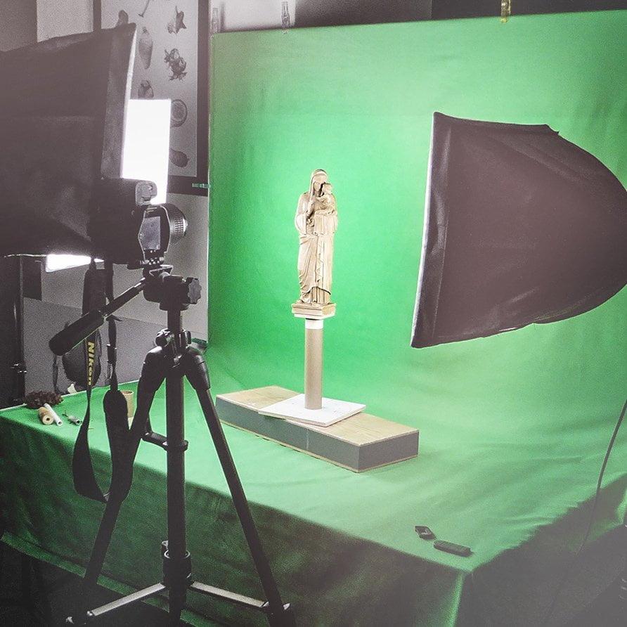 Madonna Fotostudio Photogrammetrie ikonaut