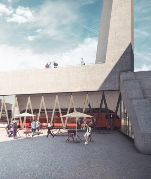 Visualisierungen Bahnhof Bern