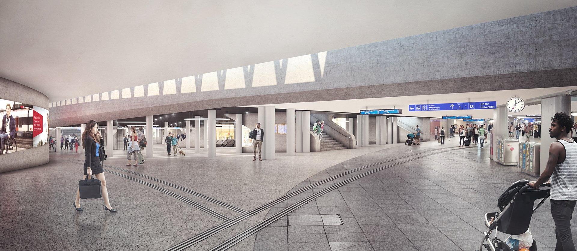 SBB, Bahnhof Bern, PU, ikonaut