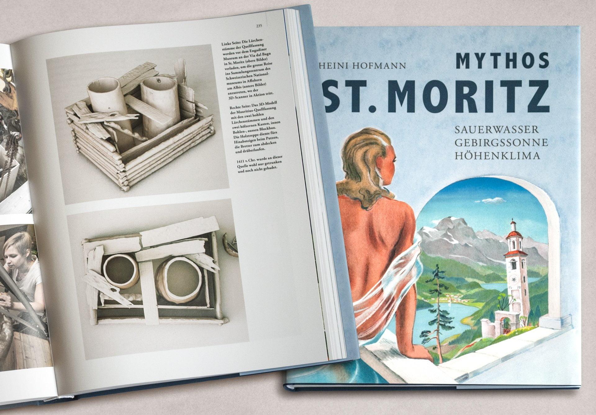 Quellfassung St. Moritz, Buch, ikonaut
