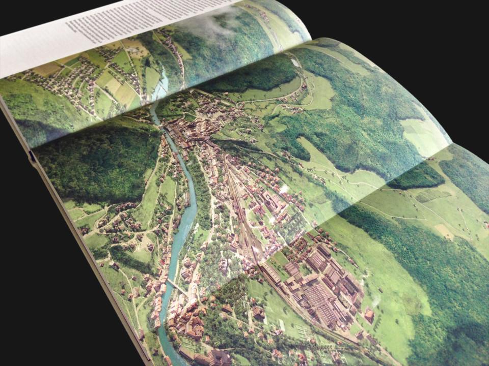 Historische Stadtansichten, historical views, Stadtgeschichte Baden, Buch Ansicht, ikonaut