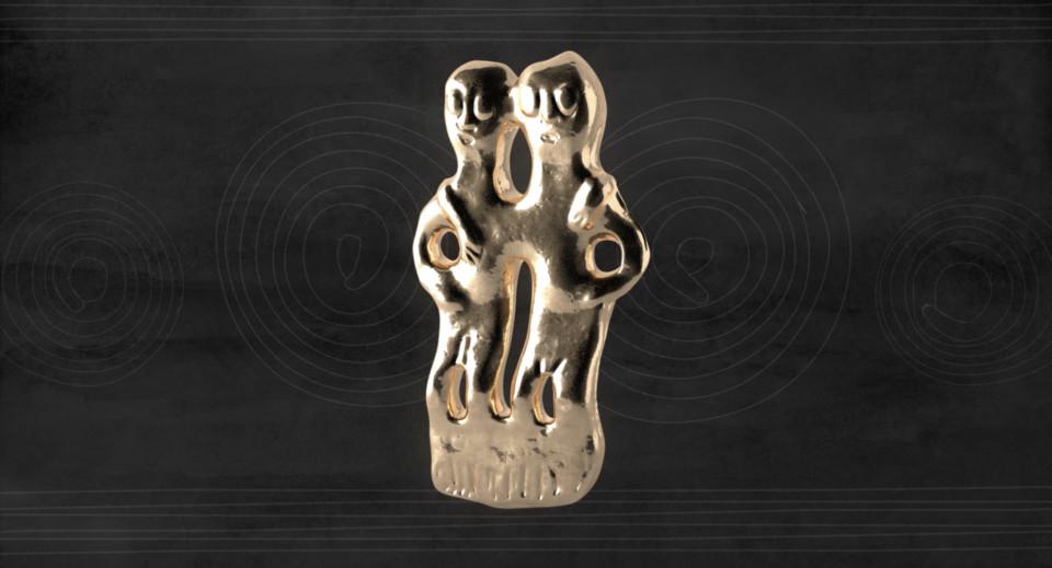 Bronzefigur Francavilla, ikonaut