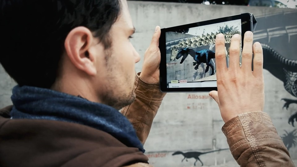 Augmented Reality, Paléoskop, ikonaut