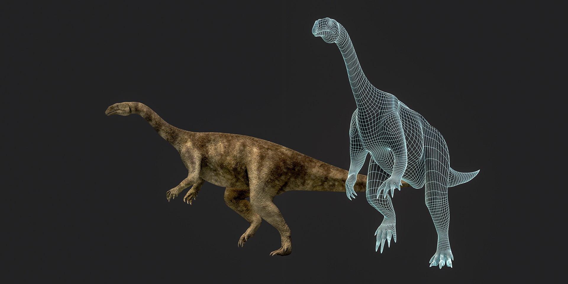 Plateosaurus Fricktal, Dinosaurier, ikonaut