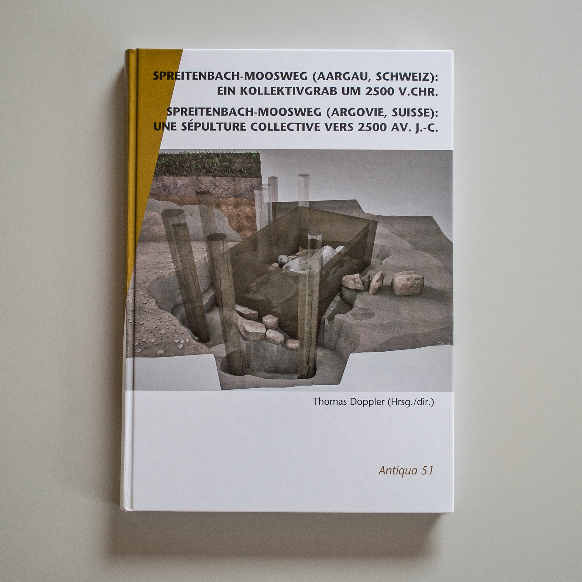 Spreitenbach Moosweg Publikation, Kollektivgrab, ikonaut