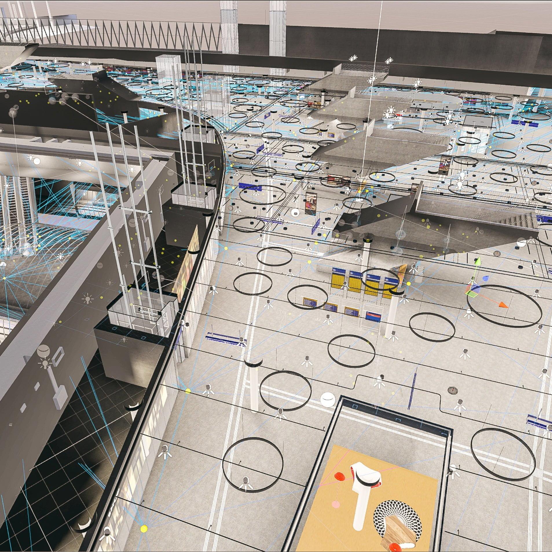SBB, Bahnhof Bern, VR, Zoom, ikonaut