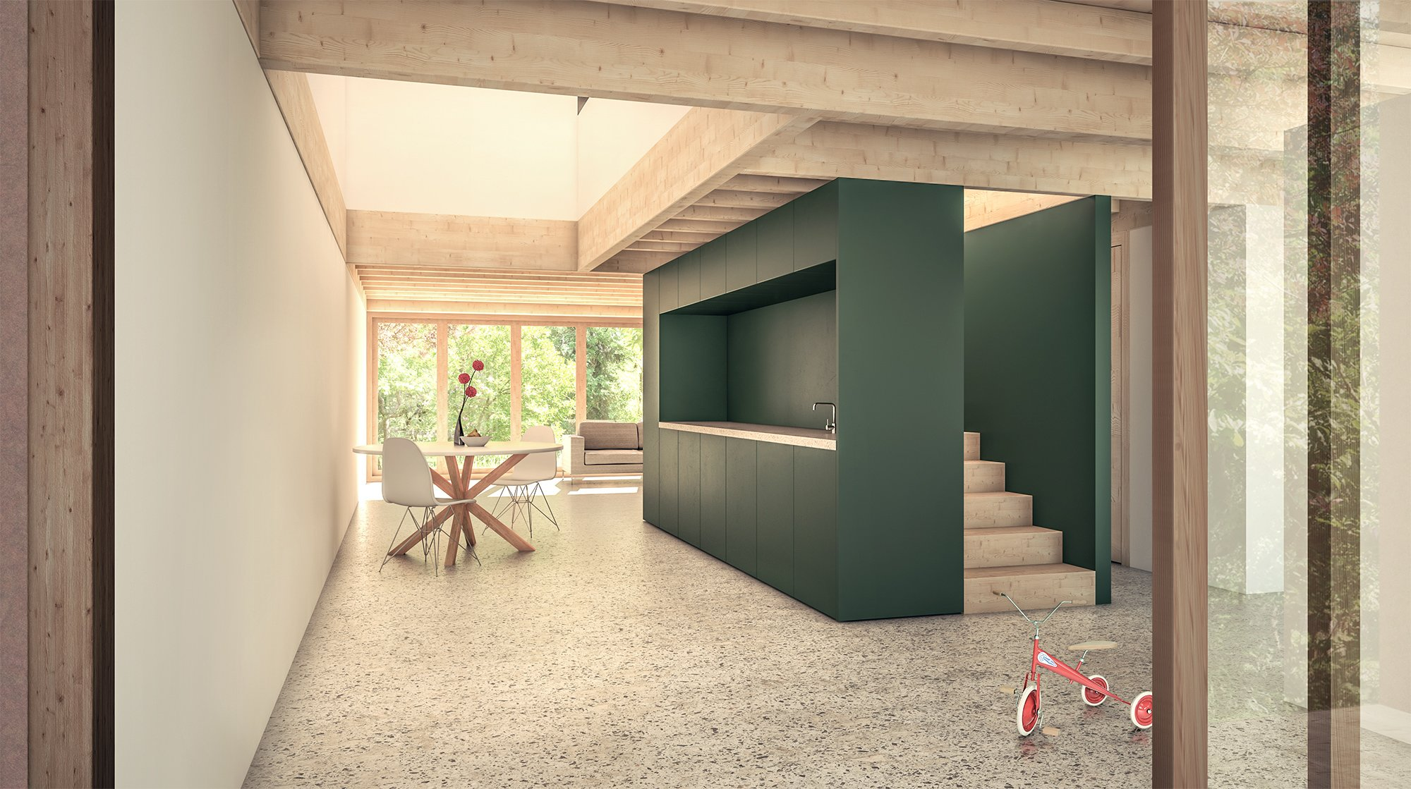 Wohnueberbauung Koelliken Innen ikonaut