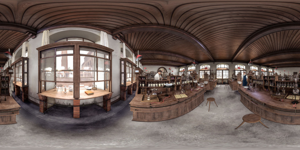 360° ETH Chemielabor, Rekonstruktion, ikonaut