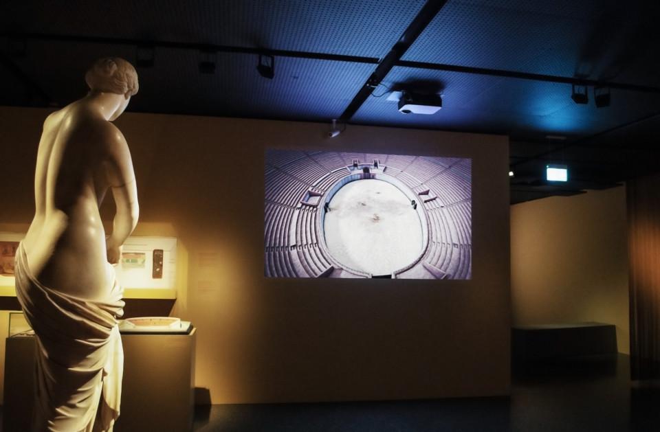 Augusta Raurica, Amphitheater, Antikenmuseum Basel, ikonaut