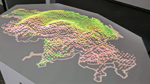 Augmented Reality für swisstopo
